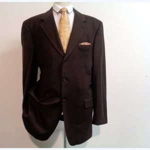 ARNOLD BRANT Suits & Blazers - 100% Cashmere ARNOLD BRANT Mens 3 Button Jacket